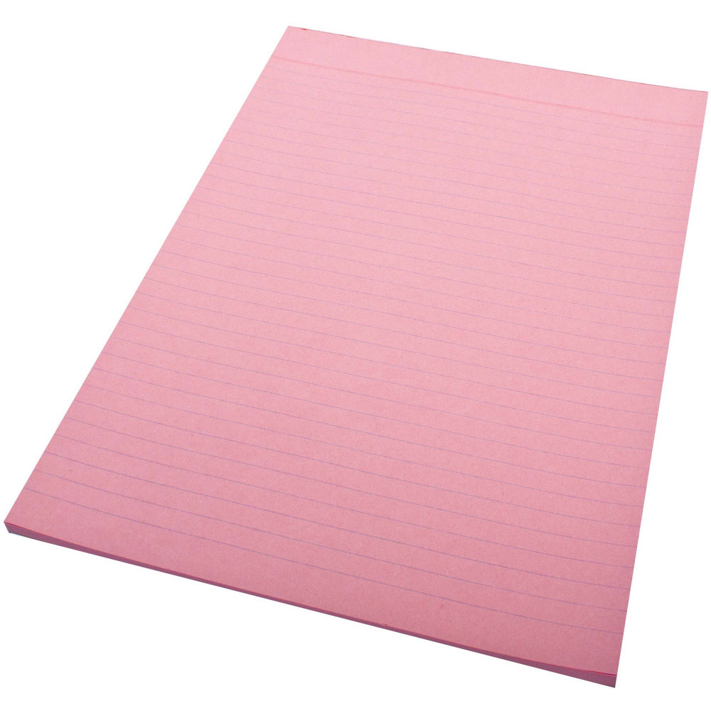 QUILL A4 70LF COLOUR BOND PADS Pink