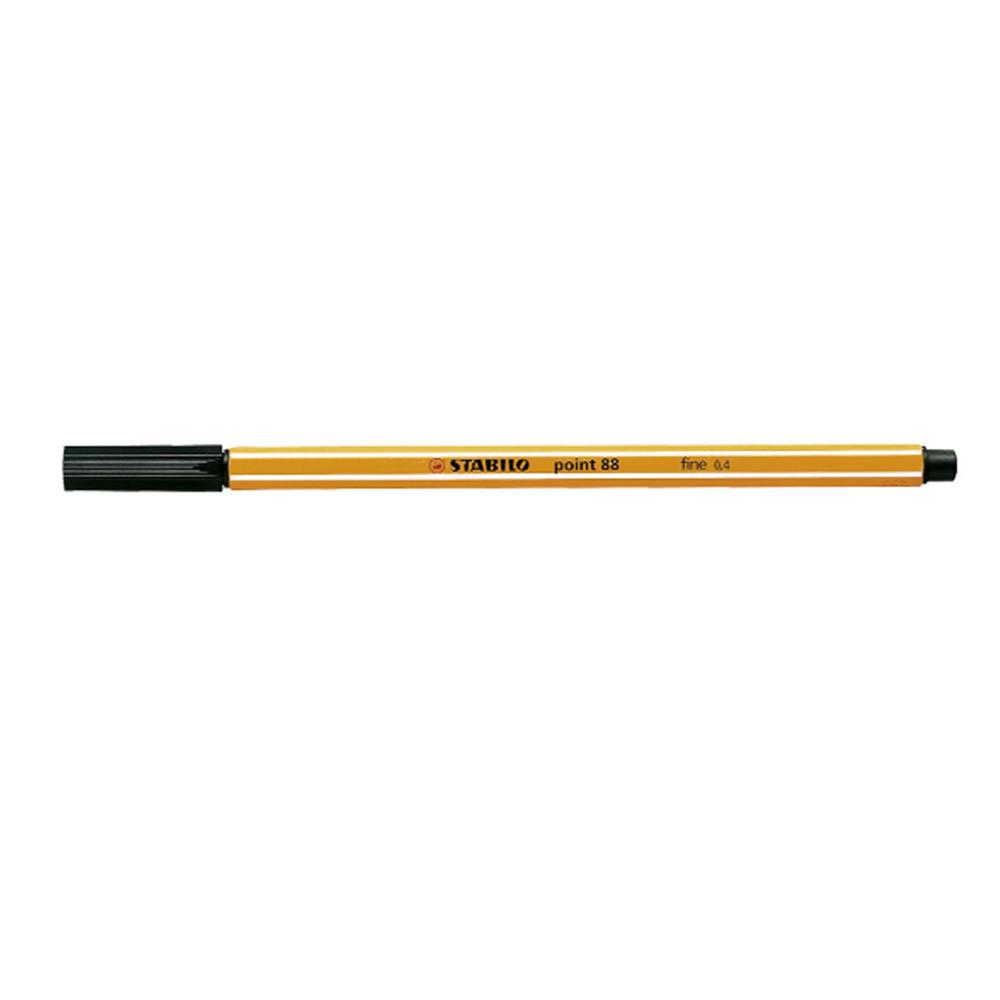 STABILO POINT 88 PEN 0.4mm Black