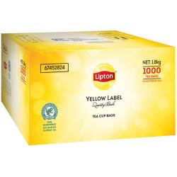 LIPTON YELLOW LABEL TEA CUP Tea bags Pack of 1000