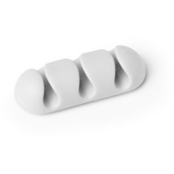 CAVOLINE CLIP 3 SELF-ADHESIVE CABLE CLIPS Grey Pack of 2