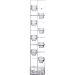RAPIDLINE BLOOM VERTICAL GARDEN 1935H x 390W x 210mmD White