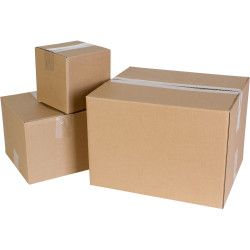 Cumberland Shipping Box 368mm x 305mm x 254mm Brown