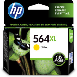 HP #564XL INKJET CARTRIDGE CB325WA, Yellow