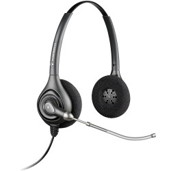 PLANTRONICS SUPRAPLUS HEADSET Corded,Biaural/Voicetube