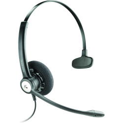PLANTRONICS ENTERA HEADSET Corded,Monaural/Noise Cancel
