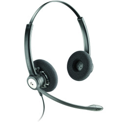 PLANTRONICS ENTERA HEADSET Corded,Biaural/Noise Cancel