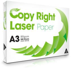 COPY & LASER PAPER COPY PAPER A3 80gsm White