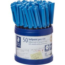 STAEDTLER STICK 430 BALL PEN Med Blue