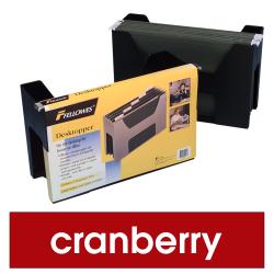 FELLOWES DESKTOPPER Cranberry