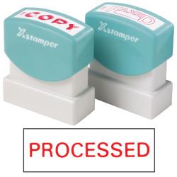 XSTAMPER -1 COLOUR -TITLES P-Q 1314 Processed Red