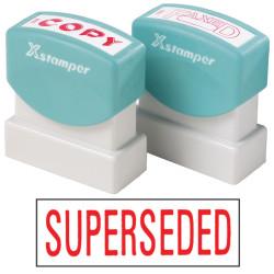 XSTAMPER -1 COLOUR -TITLES R-Z 1366 Superseded Red
