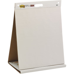 POST-IT 563 TABLETOP EASEL PAD Super Sticky 508x584mm White