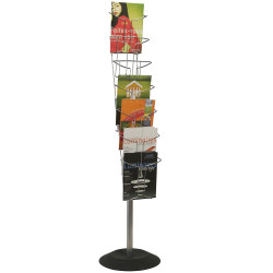 ALBA BROCHURE FLOOR STAND 7 Tier