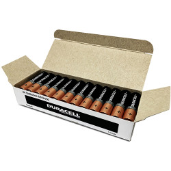 DURACELL COPPERTOP BATTERY AAA Bulk Pack (Full box is 24)