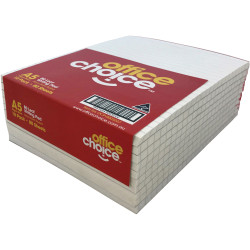 Office Choice Office Pad A5 White