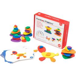 Edx Education Rainbow Pebbles Set In A Box