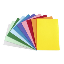 (AVD-81512) - AVERY COLOURED MANILLA FOLDERS - Foolscap - Red