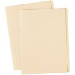(AVD-81504) - AVERY COLOURED MANILLA FOLDERS - Foolscap - Extra Heavy Weight - Buff