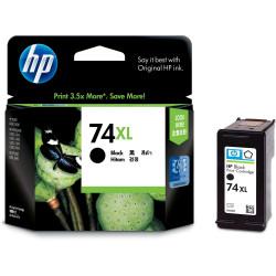 HP #74XL INKJET CARTRIDGE CB336WA, Black