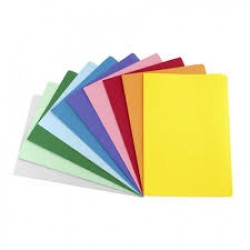 (AVD-81552) - AVERY COLOURED MANILLA FOLDERS - Foolscap - Pink