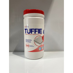 TUFFIE HARD SUFACE DISINFECTANT WIPE - TUB OF 200 WIPES