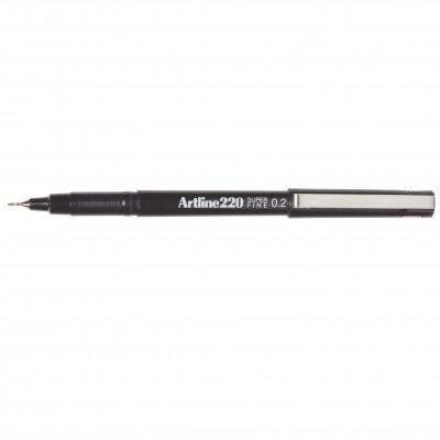 ARTLINE 220 FINELINER PENS 0.2mm Black