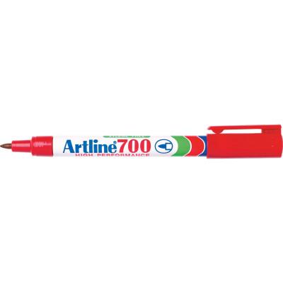 ARTLINE 700 PERMANENT MARKERS Fine Bullet Red